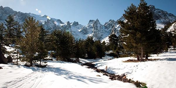 La montagne de Asoc en Corse