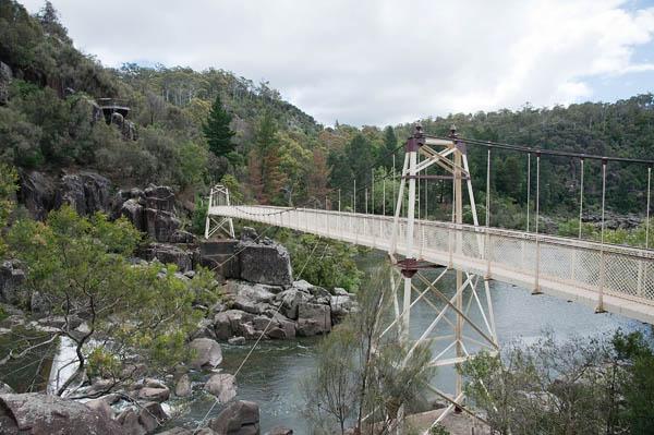 Pont suspendu Tasmanie