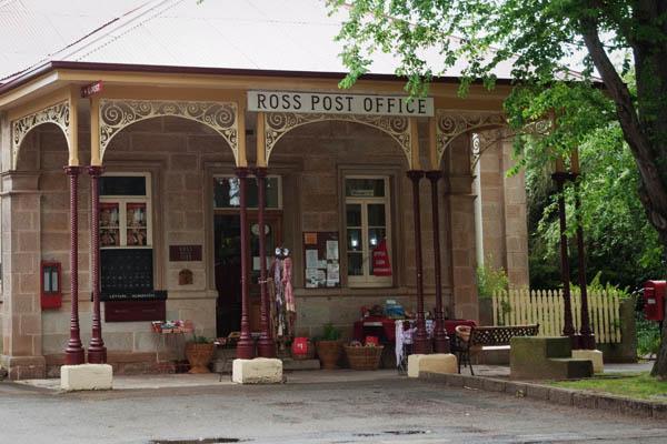 La Poste à Ross en tasmanie