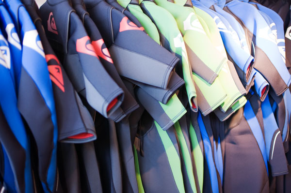 Shopping surf à Hossegor