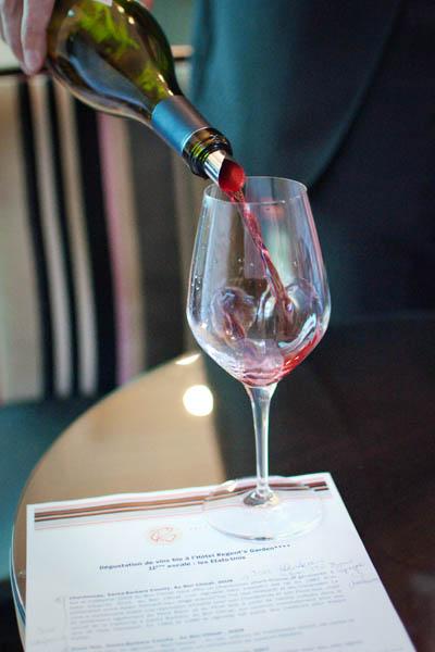 déguster des vins bio américains