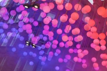 Boules violettes