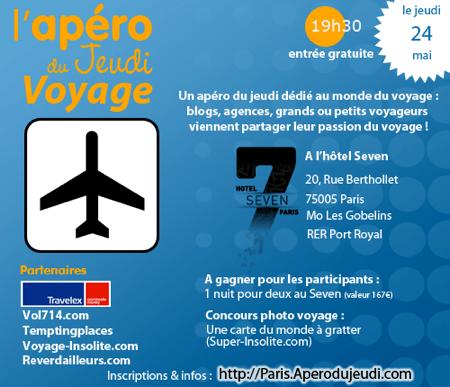 Apéro Voyage