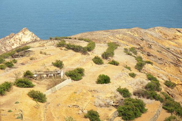 paysage de porto santo