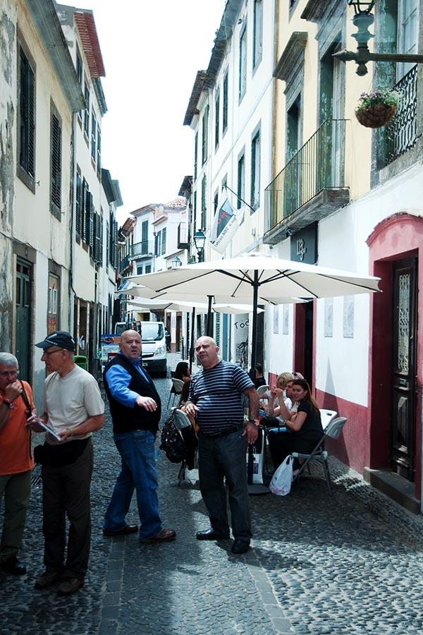 Vieille ville de Funchal à Madère