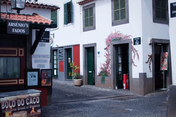 Rue santa Maria à Funchal