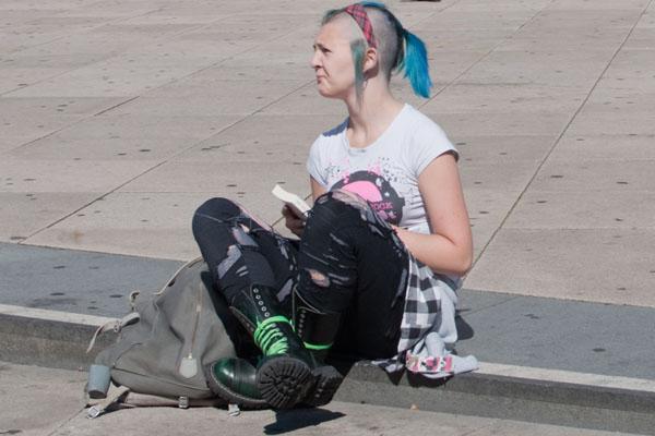 Look punk de Berlin