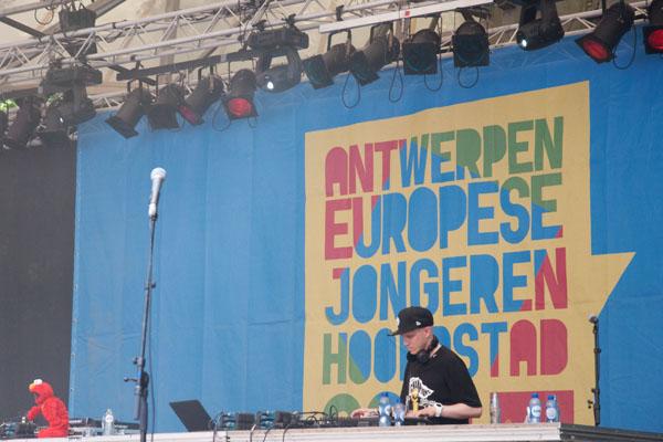 Festival de musique à Anvers