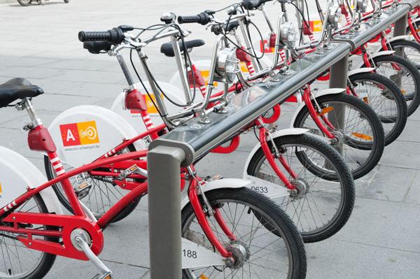 Visiter Anvers en vélo