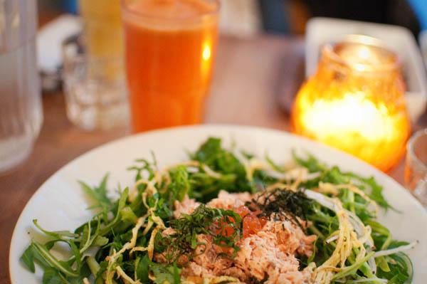 Nanashi - Assiette bento et jus d'orange/carotte/gingenmbre