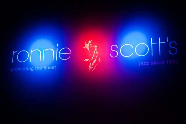 Ronnie Scott's jazz club à Londres