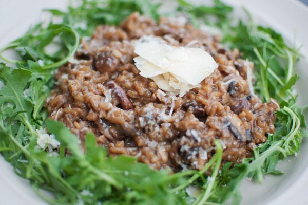Risotto au Portobello Organic Kitchen Londres