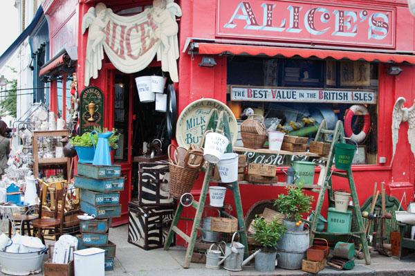 Alice's Portobello Road Londres