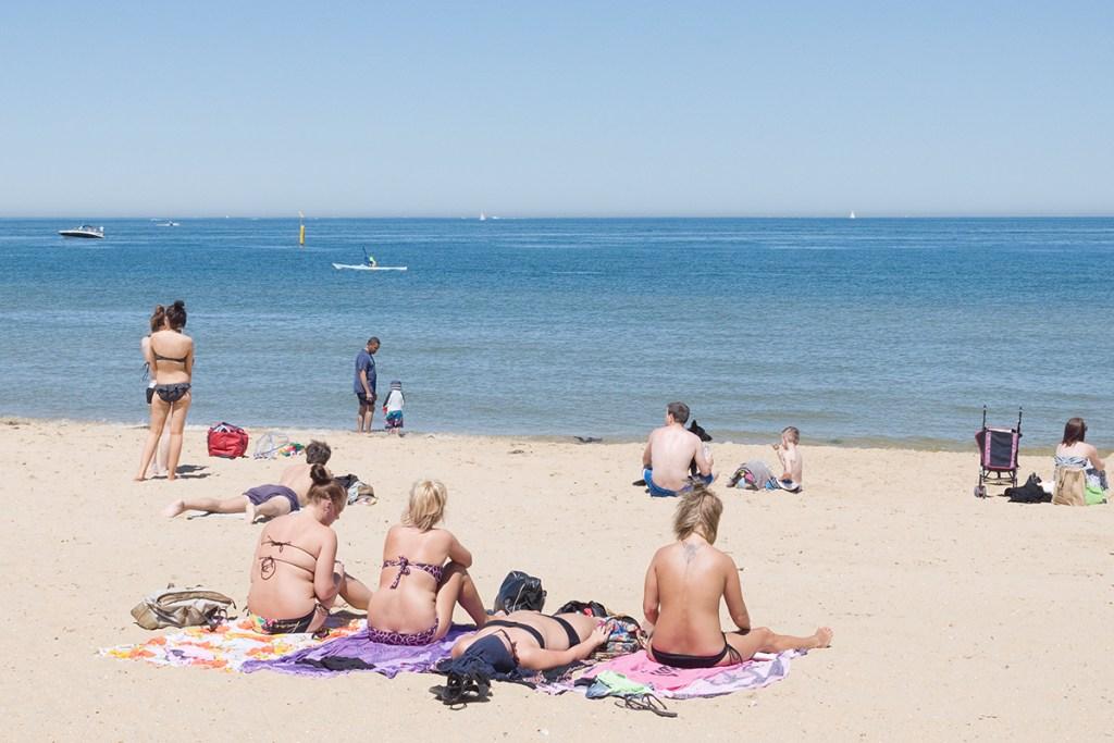 St Kilda Beach à Melbourne