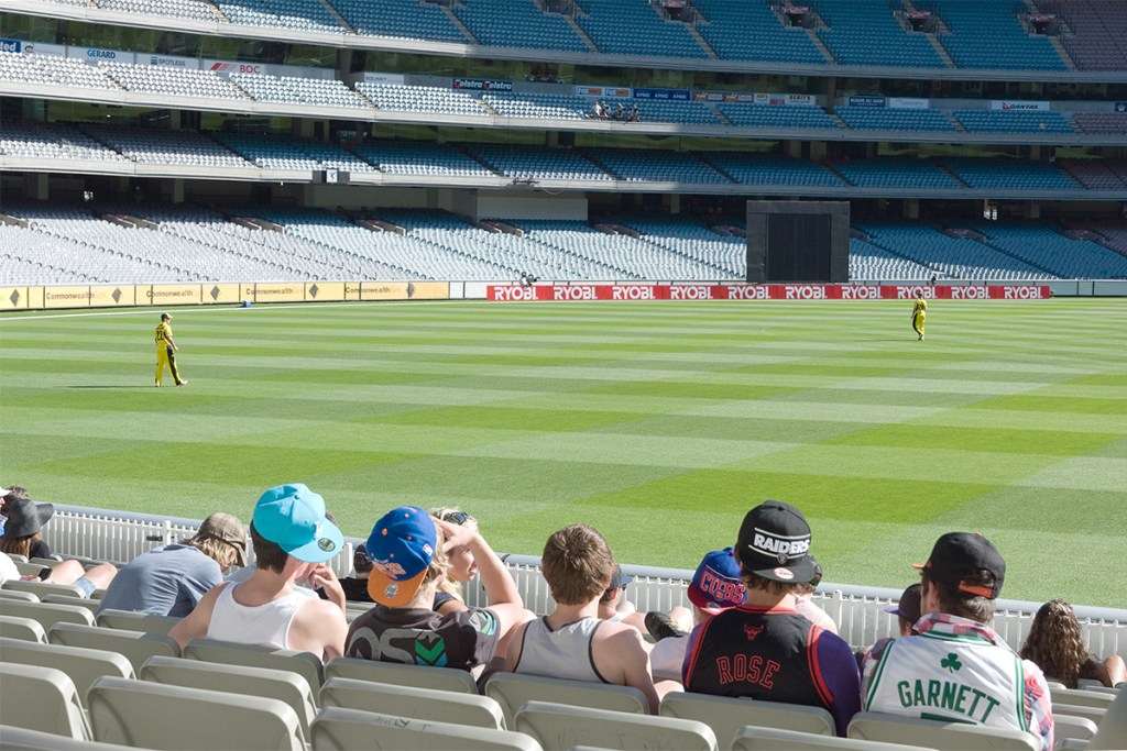 Match de cricket au MGC Melbourne