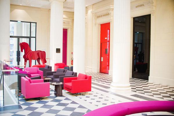 Radisson BLU Nantes - Hall d'accueil