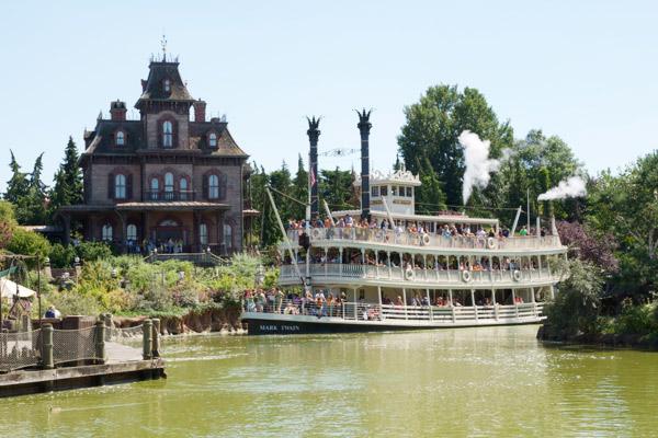 Maison hantée Disneyland