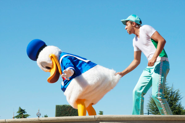 Donald - Personnages Disneyland