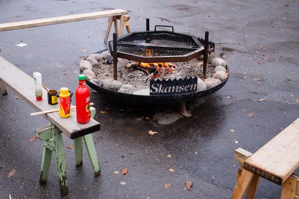 Stockholm - Barbecue en plein air à Skansen