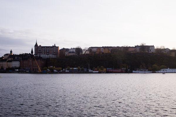 Stockholm - Vue sur Södermalm