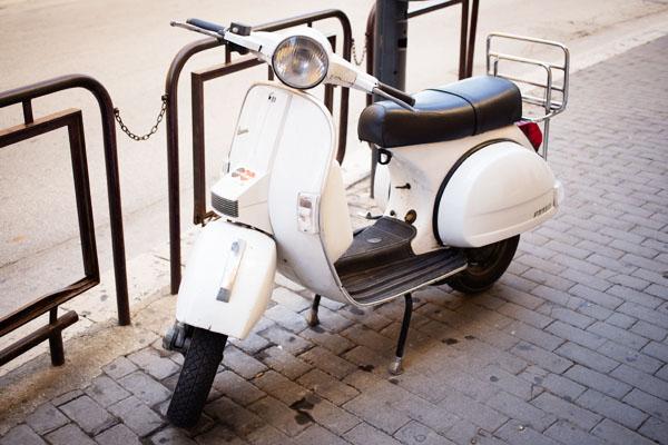 Voyage Sicile - Vespa Italie