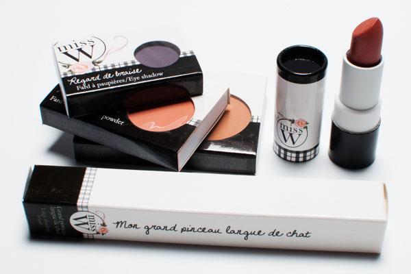 Miss W maquillage Bio