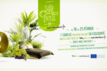 Suite Verte à l'hôtel Hidden Paris