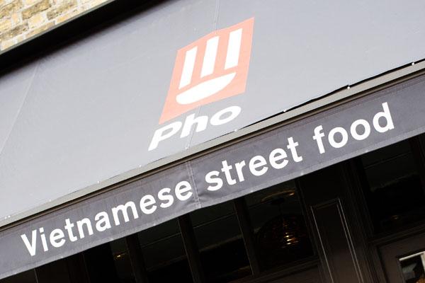 Pho street food Londres