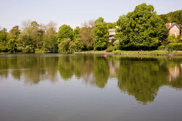 Le lac de Ville d'Avray