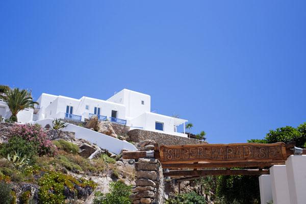 Super Paradise beach à Mykonos