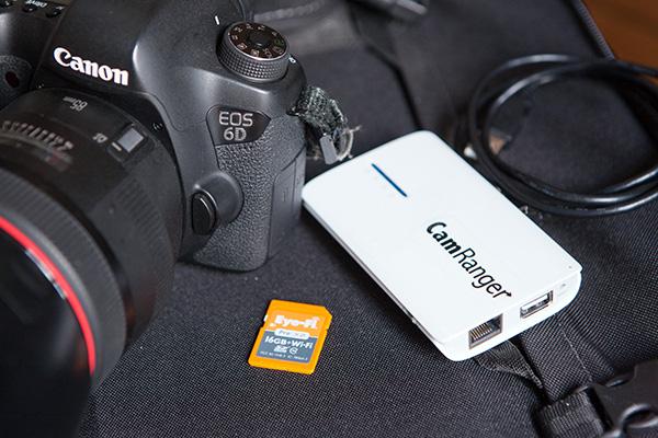 Canon 6D wifi + Eye-Fi pro + CamRanger