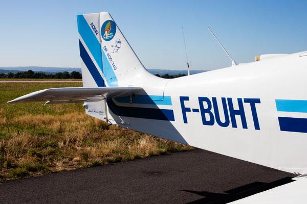 Leçon de pilotage d'avion à l'aéroclub du Limousin