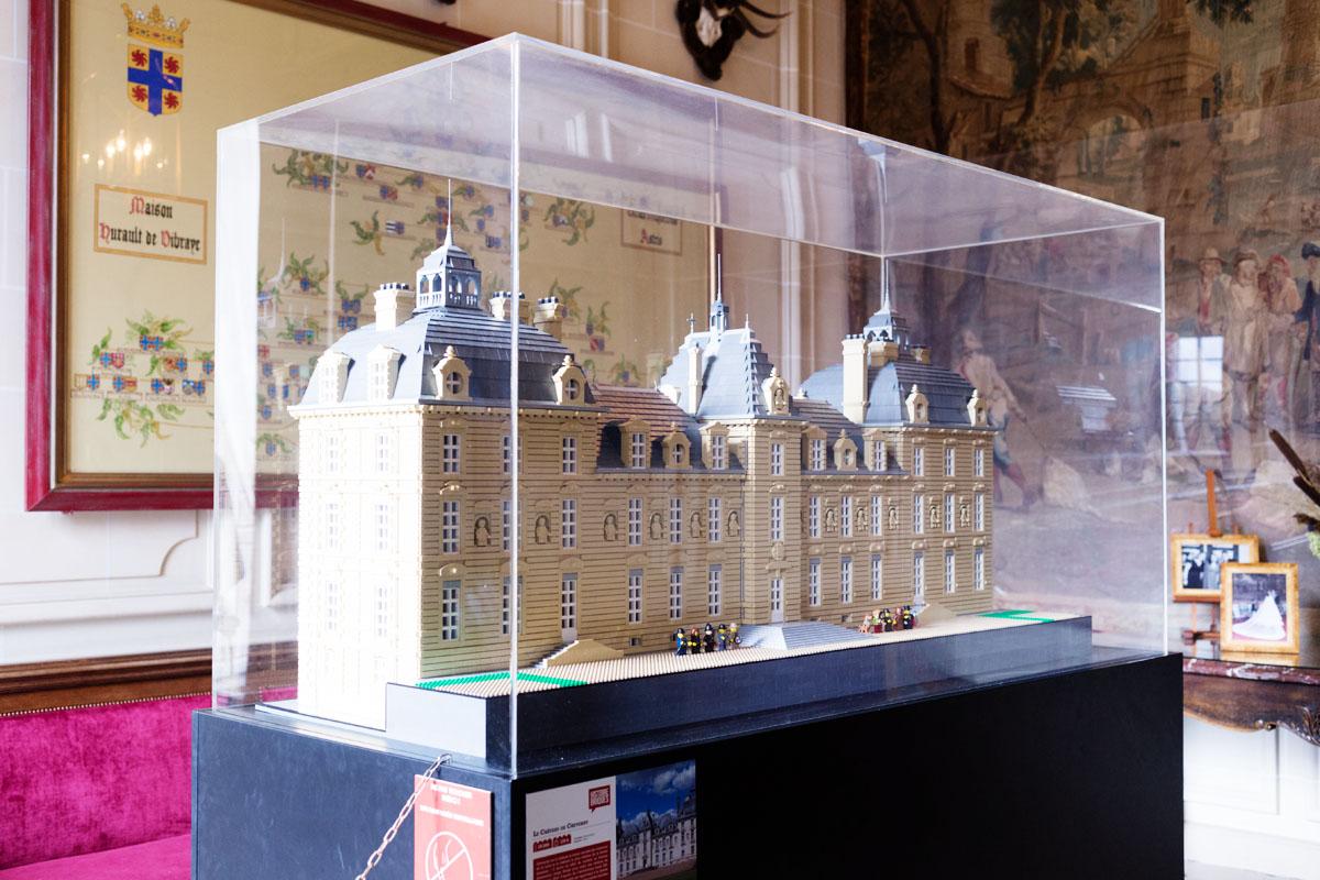 CHâteau de Cheverny en Lego®