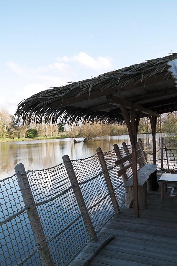 cabane flottante Domaine des Ormes