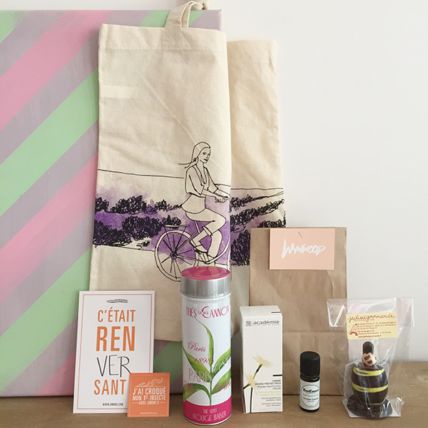 Goodies bag Les Dimancheries
