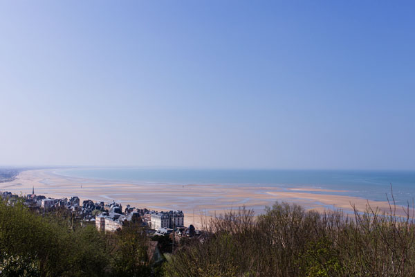 Point de vue sur Cabourg