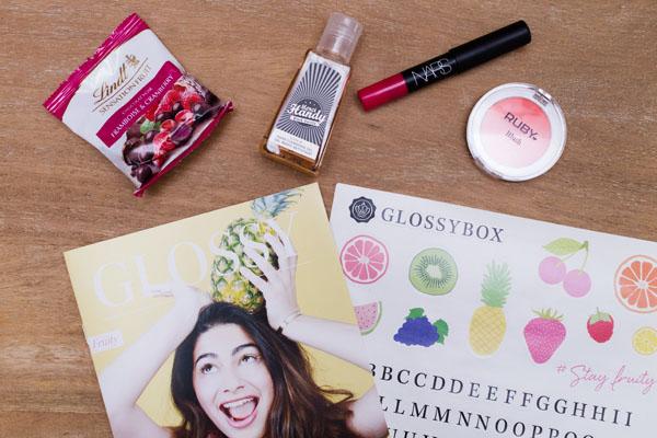 Glossybox beauté juin 2017
