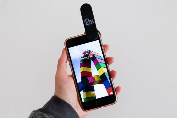 Mise en place de l'objectif PIXTER sur mobile