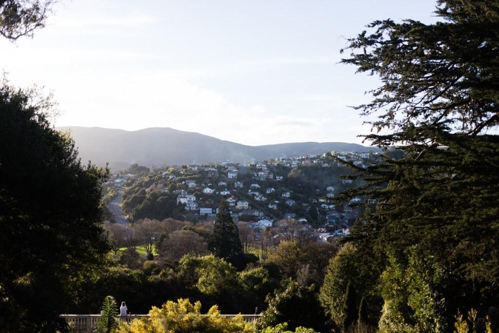 jardin botanique de Dunedin NZ