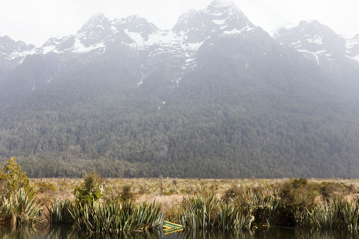 Mirror Lake Milford Sound