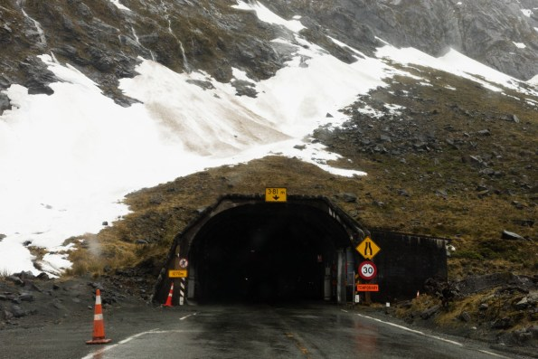 Homer Tunnel Milford road