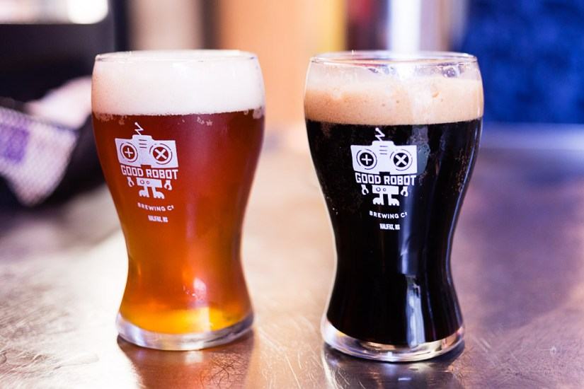 Micro-Brasserie bière Good Robot Halifax