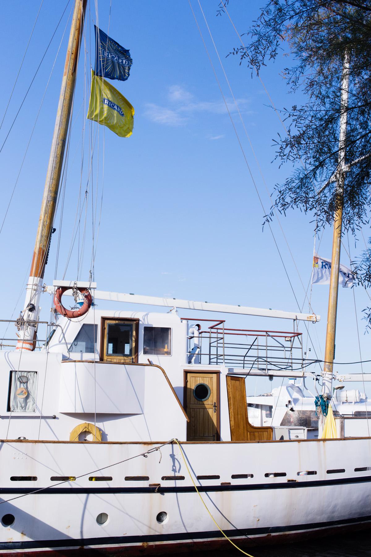 Port île des Embiez