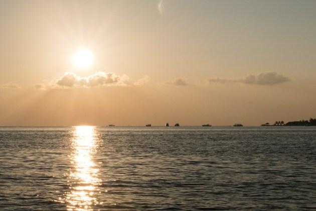 Sunset Cruise Velassaru Maldives