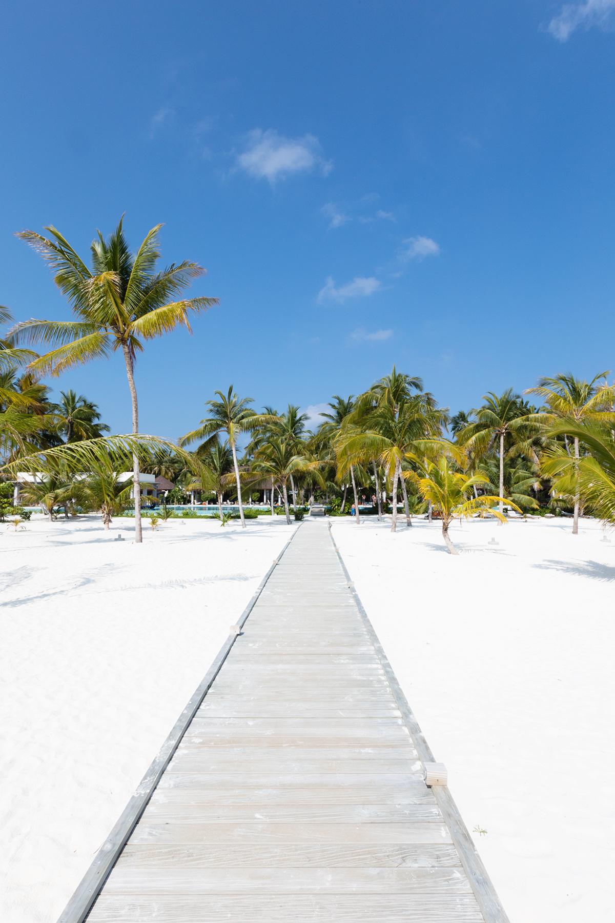 Dhigali Maldives plage