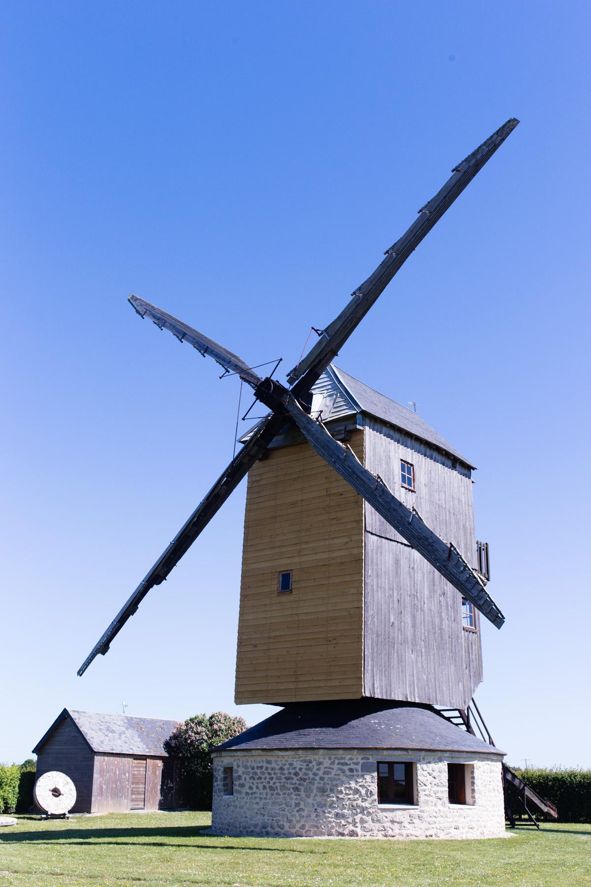 Moulin de la garenne à Ymonville