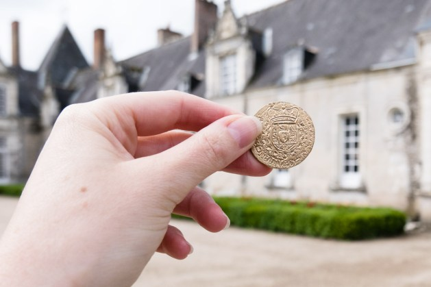 Chasse aux trésors au chateau de Villesavin