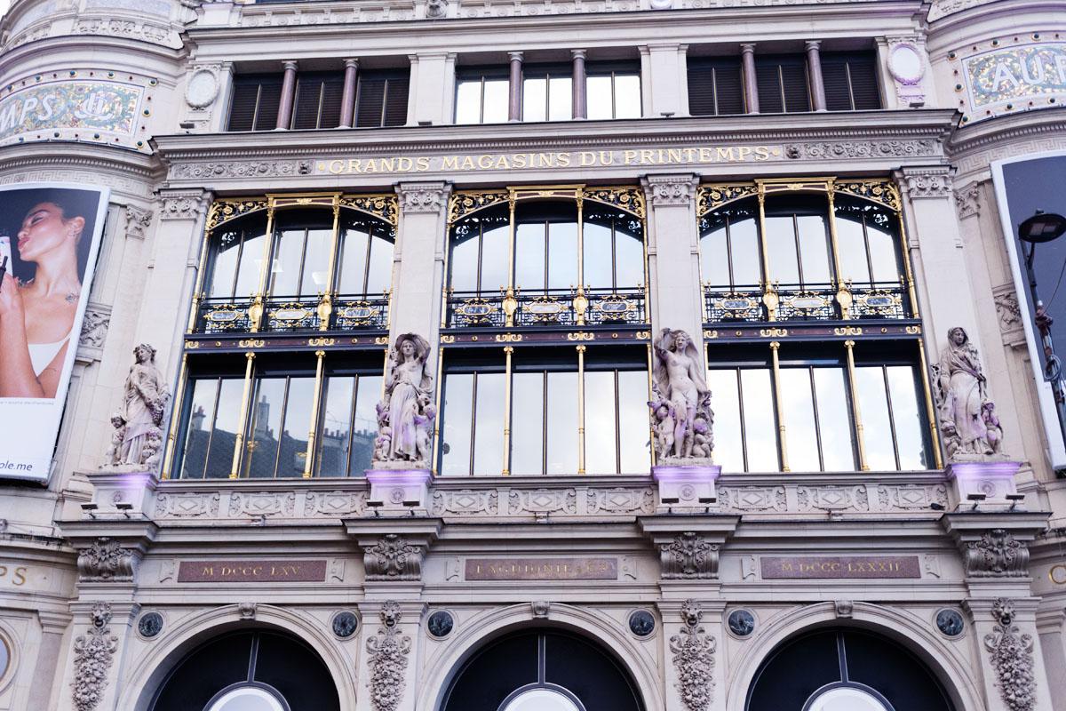 Printemps Haussmann - Façade Monument historique