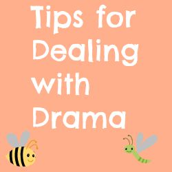 Tips for Dealing with Drama by a RL Dramaphobic