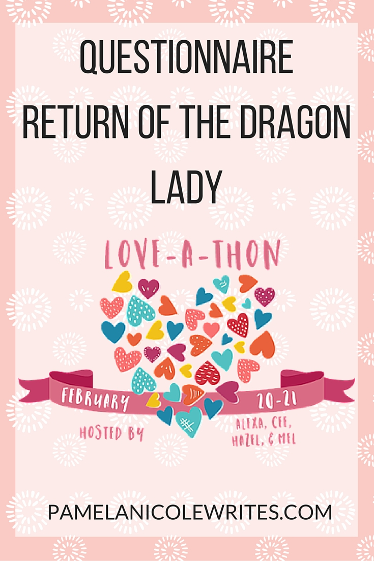 Book Blogger Love-a-Thon: Return of the Dragon Lady